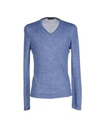 Barba Knitwear Jumpers Men Pastel Blue