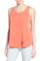 Nic Zoe Women's Promenade Asymmetrical Double Layer Tank