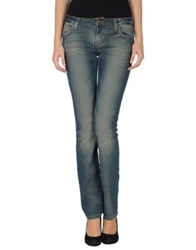 Exte Denim Pants Blue