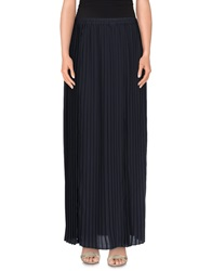 Michael Michael Kors Long Skirts Dark Blue