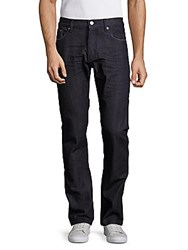 Earnest Sewn Bryant Mid Rise Jeans Raw Blue