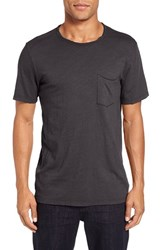 Velvet By Graham And Spencer Men's Chad Pocket T Shirt Exhaust