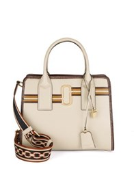 Marc Jacobs Parch Big Shot Parchment Leather Satchel