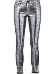 Rta Leather Leggings Metallic