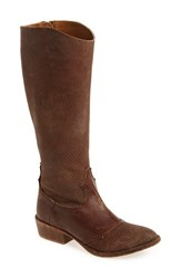 Matisse Women's 'Trouble' Western Boot Saddle Leather