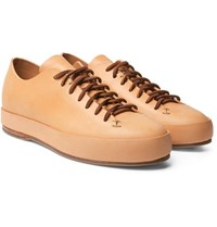 Feit Leather Sneakers Tan