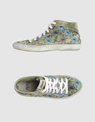 Pepo High Top Sneakers Military Green