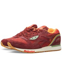 Reebok X Packer Shoes Lx 8500 Rugged Maroon And Mulberry