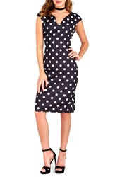 Wallis Women's Polka Dot Sheath Dress