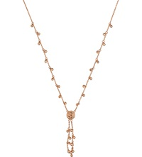 Links Of London Effervescence Bubble 18Ct Rose Gold Necklace
