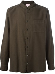 Palm Angels Military Shirt Green