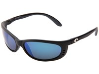 Costa Fathom 580 Mirror Glass Black Blue Mirror 580 Glass Lens Sport Sunglasses