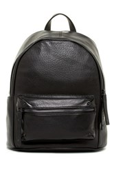 L.A.M.B. Hussel Leather Backpack Black