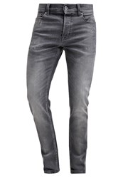 7 For All Mankind Larry Relaxed Fit Jeans Grey Used Grey Denim