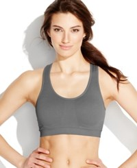 Jockey Sport Removable Cup Seamless Bra 6997 Charcoal