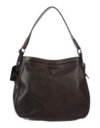 Prada Handbags Brown