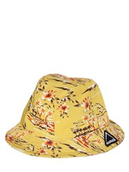 Mauna Kea Printed Cotton Canvas Hat