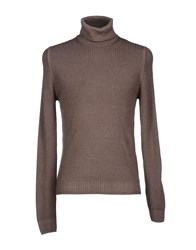 Gran Sasso Knitwear Turtlenecks Men Khaki