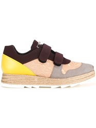 Stella Mccartney Paneled Velcro Sneakers