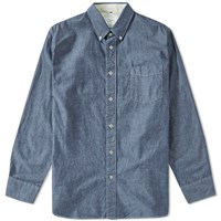 Rag And Bone Rag And Bone Standard Issue Oxford Shirt Blue