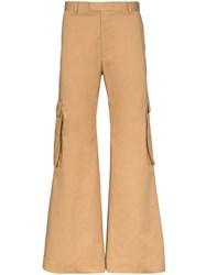 Martine Rose Flared Cargo Trousers 60
