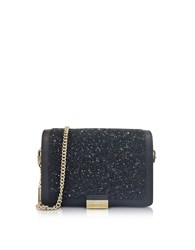 Michael Kors Handbags Jade Black Crystals And Leather Clutch