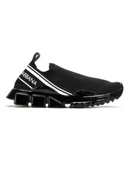 Dolce And Gabbana Sorrento Melt Sneakers Black
