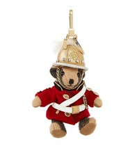 Burberry Shoes And Accessories Thomas Regimental Bear Charm Female Red