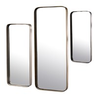 Pols Potten Edge Mirrors Set Of 3 Rectangular