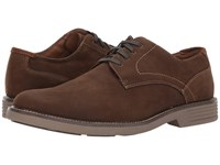 Dockers Parkway Plain Toe Oxford Brown Waxy Nubuck Shoes