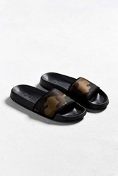 Urban Outfitters Uo Camo Slide Sandal Black