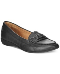 American Living Ulssa Casual Moc Flats A Macy's Exclusive Style Black