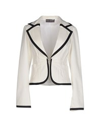 Bad Spirit Suits And Jackets Blazers Women Ivory