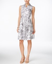 Charter Club Floral Print Shirtdress Only At Macy's