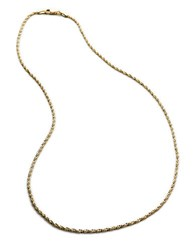 Lord And Taylor 14K Two Tone Gold Chain