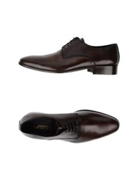 Thompson Lace Up Shoes Dark Brown