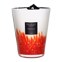 Baobab Feathers Scented Candle Feathers Masaai 24Cm