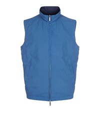 Paul And Shark Reversible Quilted Gillet Male Blue