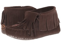 Manitobah Mukluks Paddle Suede Moccasin Vibram Chocolate Women's Boots Brown