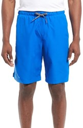 Under Armour Men's Mania Volley Swim Trunks Blue Marker Water