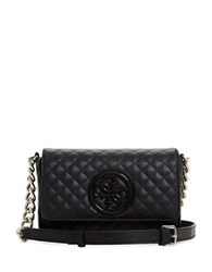Guess G Lux Quilted Mini Crossbody Bag Black