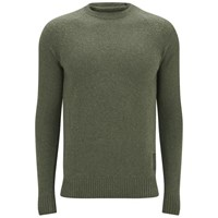 Barbour Men's Heritage Staple Crew Knitted Jumper Olive