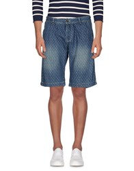 Yes Zee By Essenza Denim Shorts Blue