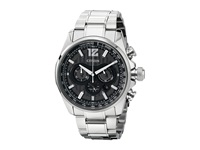 Citizen Ca4170 51E Eco Drive Shadowhawk Silver Tone Stainless Steel Dress Watches Bronze