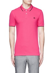 Paul Smith Slim Fit Polo Shirt Pink
