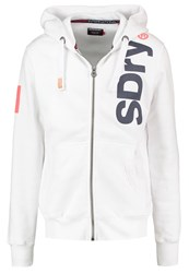 Superdry Tracksuit Top Optic White