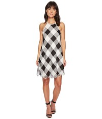 Bishop Young Plaid Shift Dress Assorted Multi