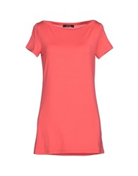 Guess By Marciano Topwear T Shirts Women Coral