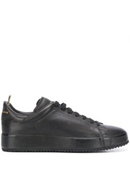Officine Creative Polished Low Top Sneakers Black