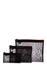Sons Of Trade Assignment Kit Zip Mesh Storage Bags Black